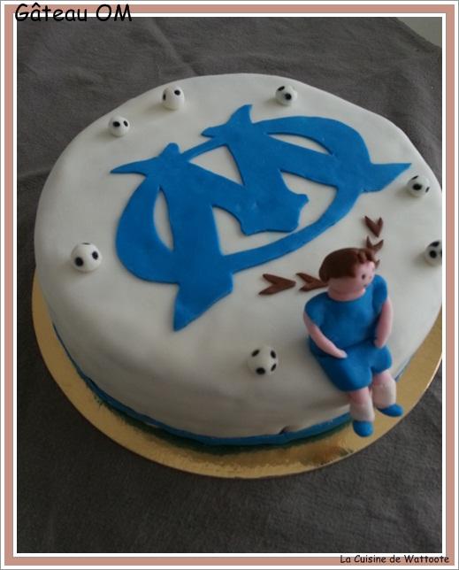 gâteau anniversaire OM