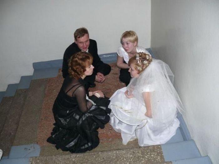 Najdziwniejsze zdjęcia ślubne #4 14