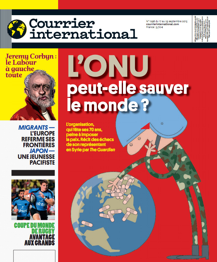 courrier international N°1298 du 17 au 23 septembre 2015