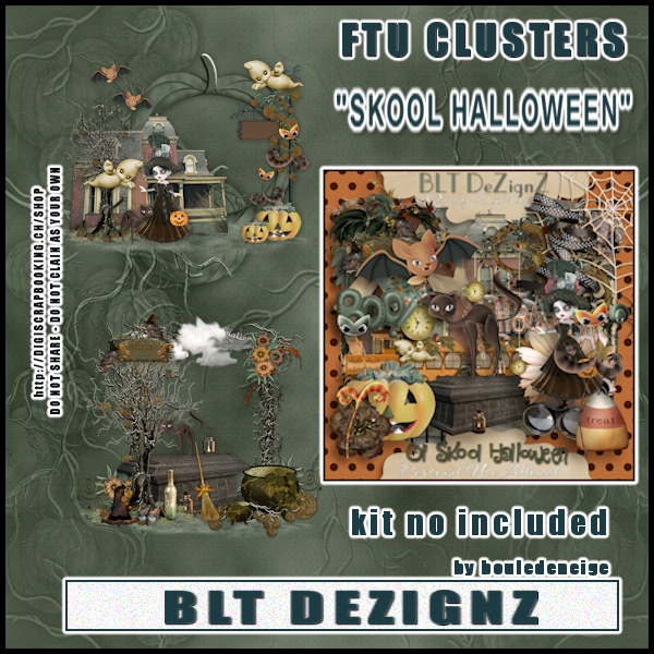 preview cluster skool halloween