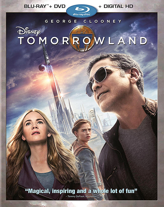 Tomorrowland poster image
