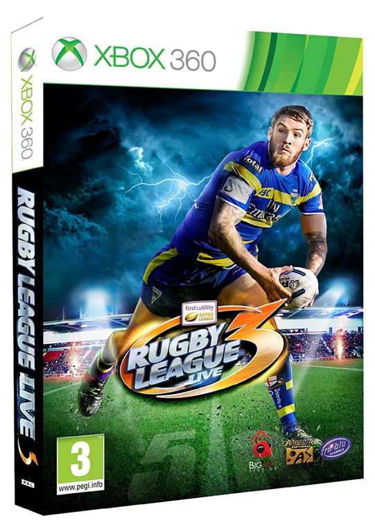 Poster for Rugby League Live 3