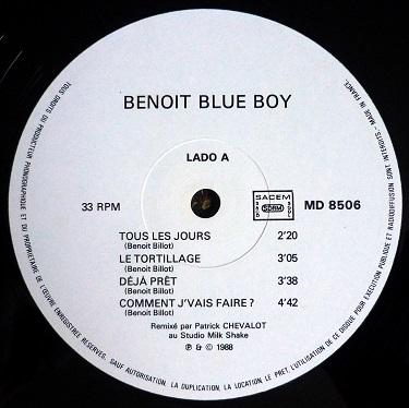 Benoit Blue Boys - & Les tortilleurs logo