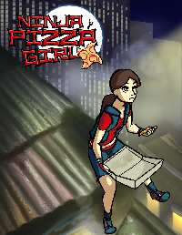 Poster for Ninja Pizza Girl