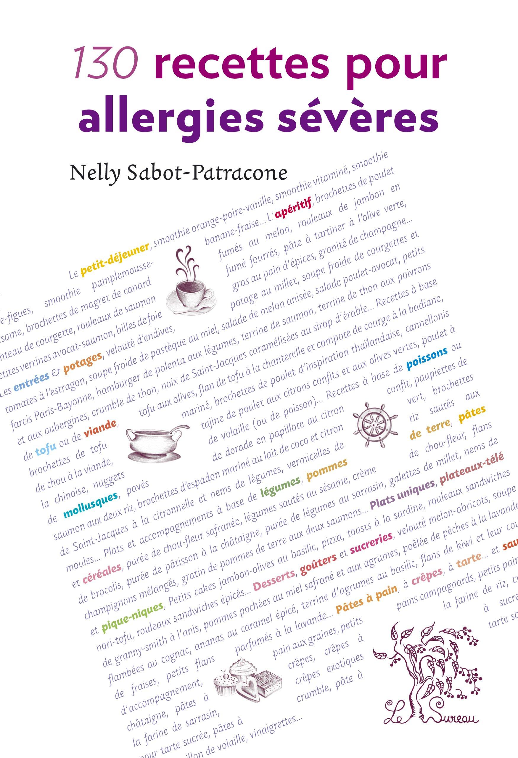 130 recettes pour allergies sévères