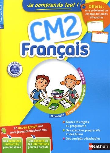 Français CM2 – Je comprends tout-10 à 11 ans