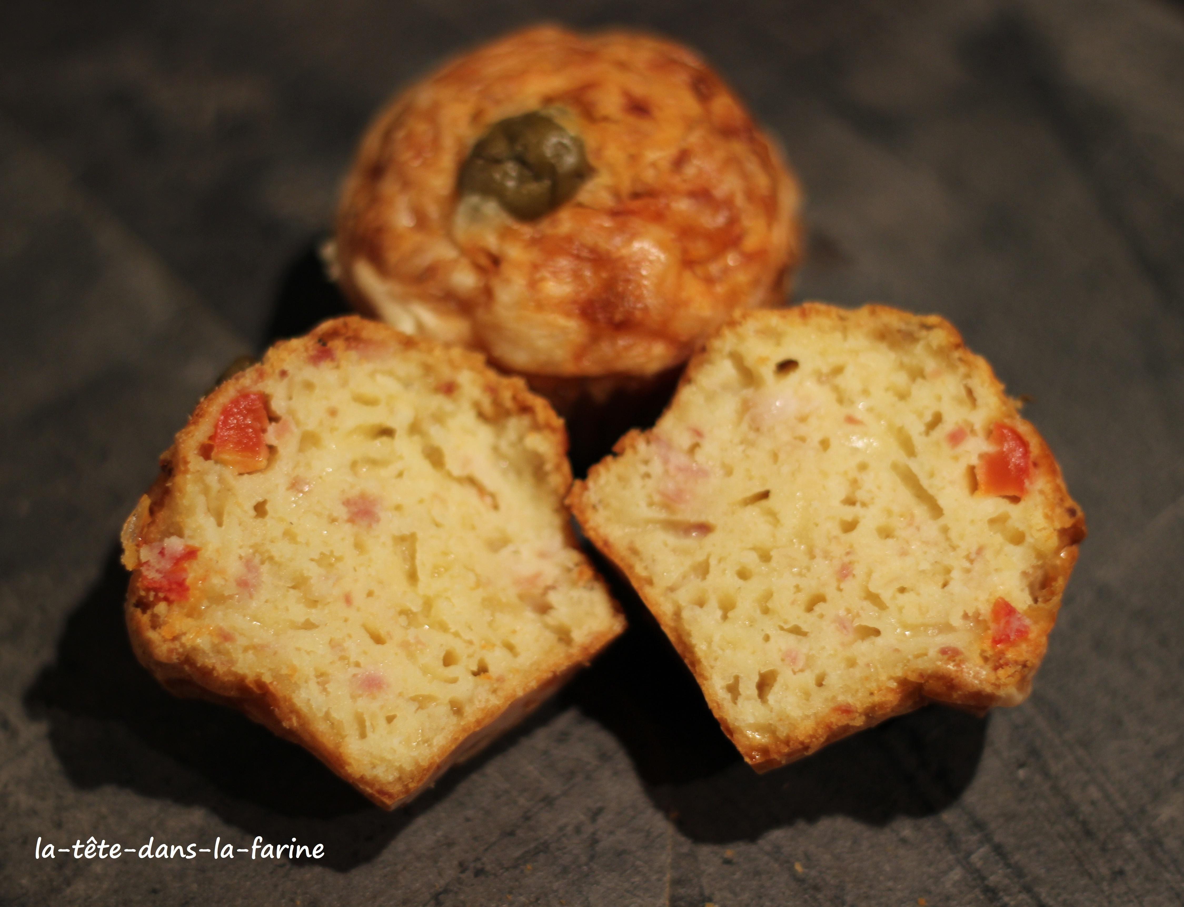 Muffin façon pizza