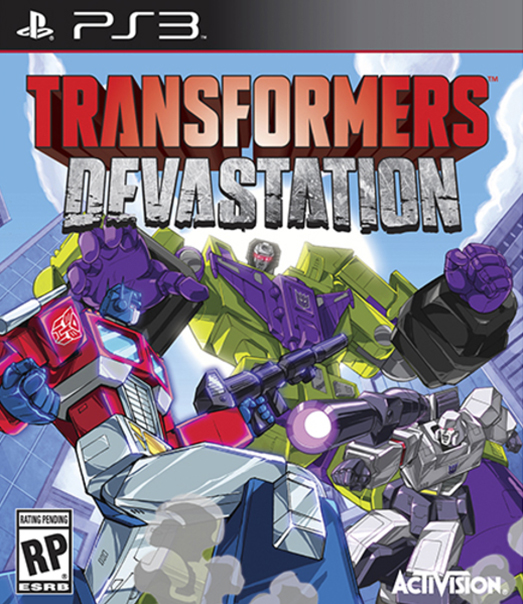 Poster for Transformers: Devastation