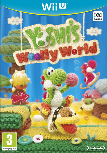 Poster for Yoshi's Woolly World