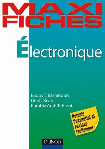 Maxi fiches Electronique