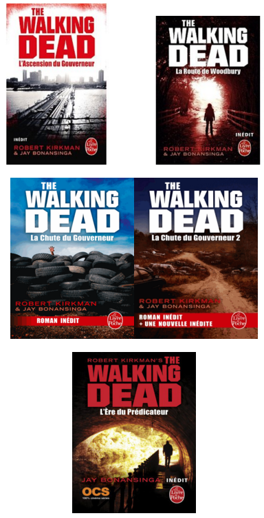 The Walking Dead - 5 tomes