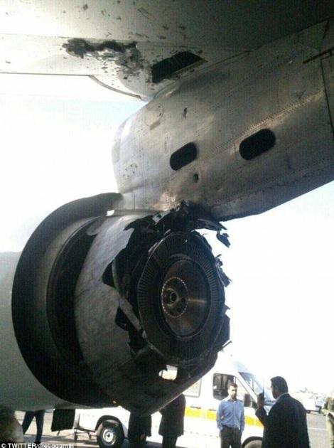 ruptures non contenues disque turbine CF6-50  151105033727869542