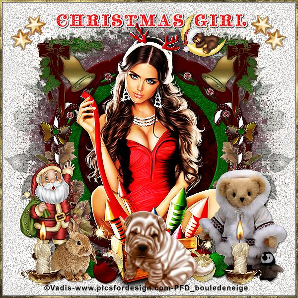 TUTO PERSO CHRISTMAS GIRL