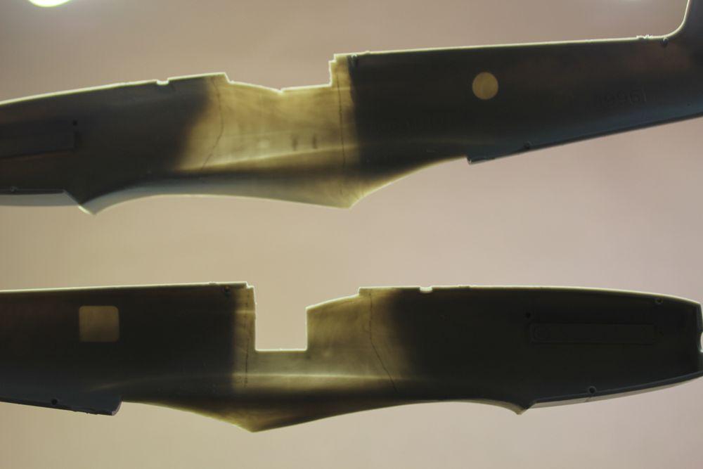 Spitfire F MK 22 , Eduard 1/48 .Limited édition ! 151111031410789489