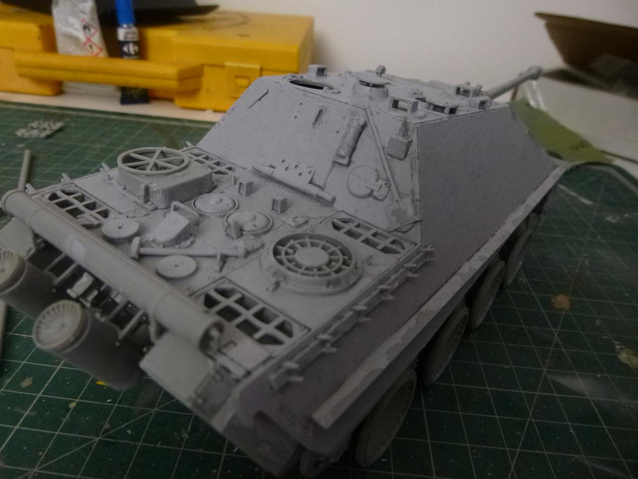 Jagdpanther fin de guerre 1945 - Dragon 1/35  151116083759228353