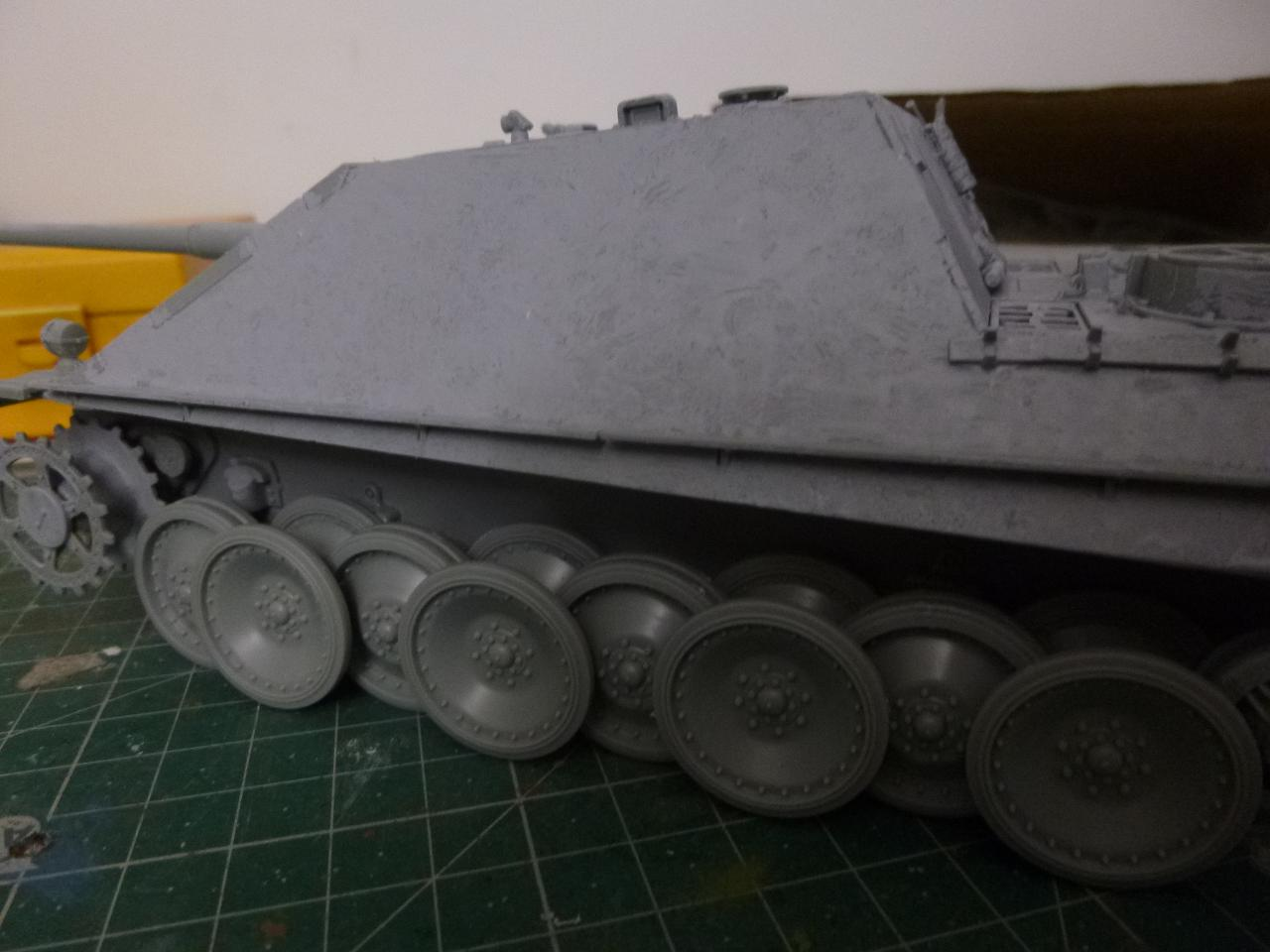 Jagdpanther fin de guerre 1945 - Dragon 1/35  151116083842919792