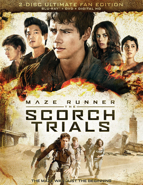 Maze Runner: The Scorch Trials poster image