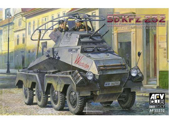Afrika korps, véhicule à roues.... Sd.Kfz.232 [AFV Club 1/35] 151123100724591210