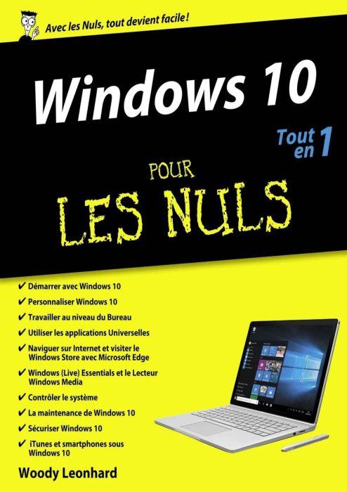 Windows 10 Tout en un Pour les Nuls French