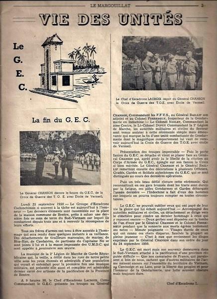 "le livre d'Erwan Bergot ""Gendarmes au combat) Indochine 1945-1955 151127061050248869"