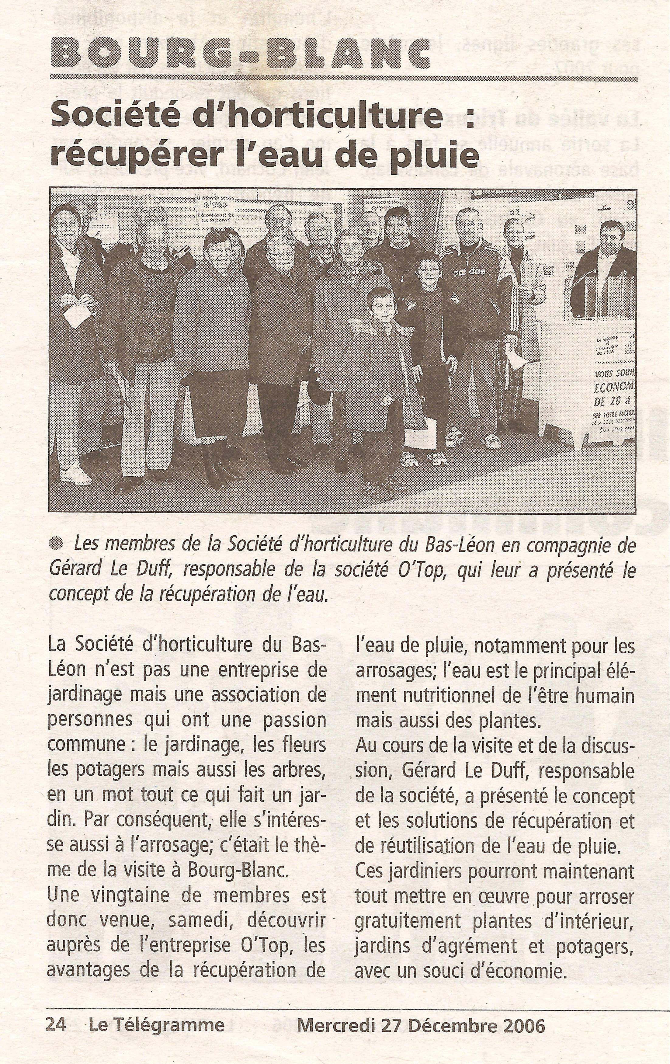 2006 12 27 le telegramme