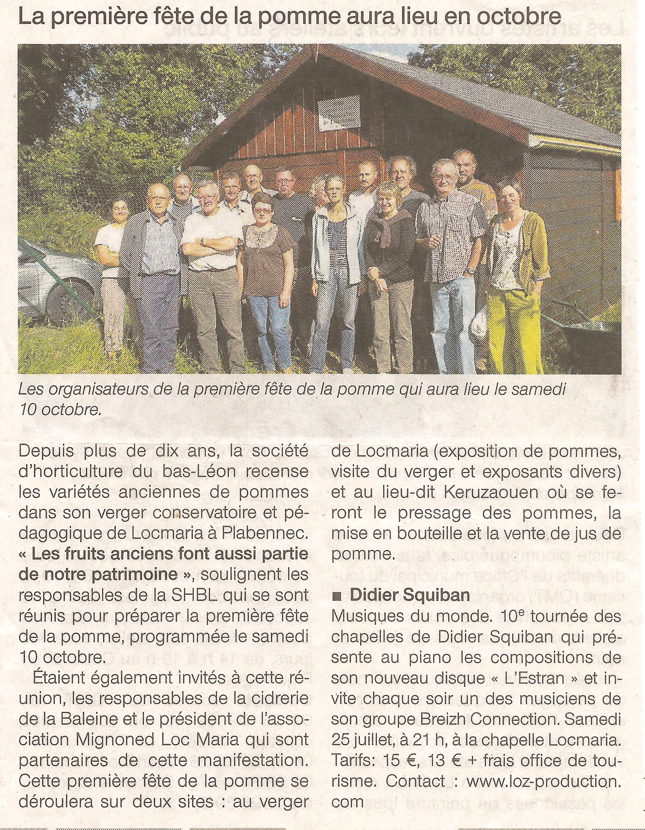 2009 07 23 Ouest France