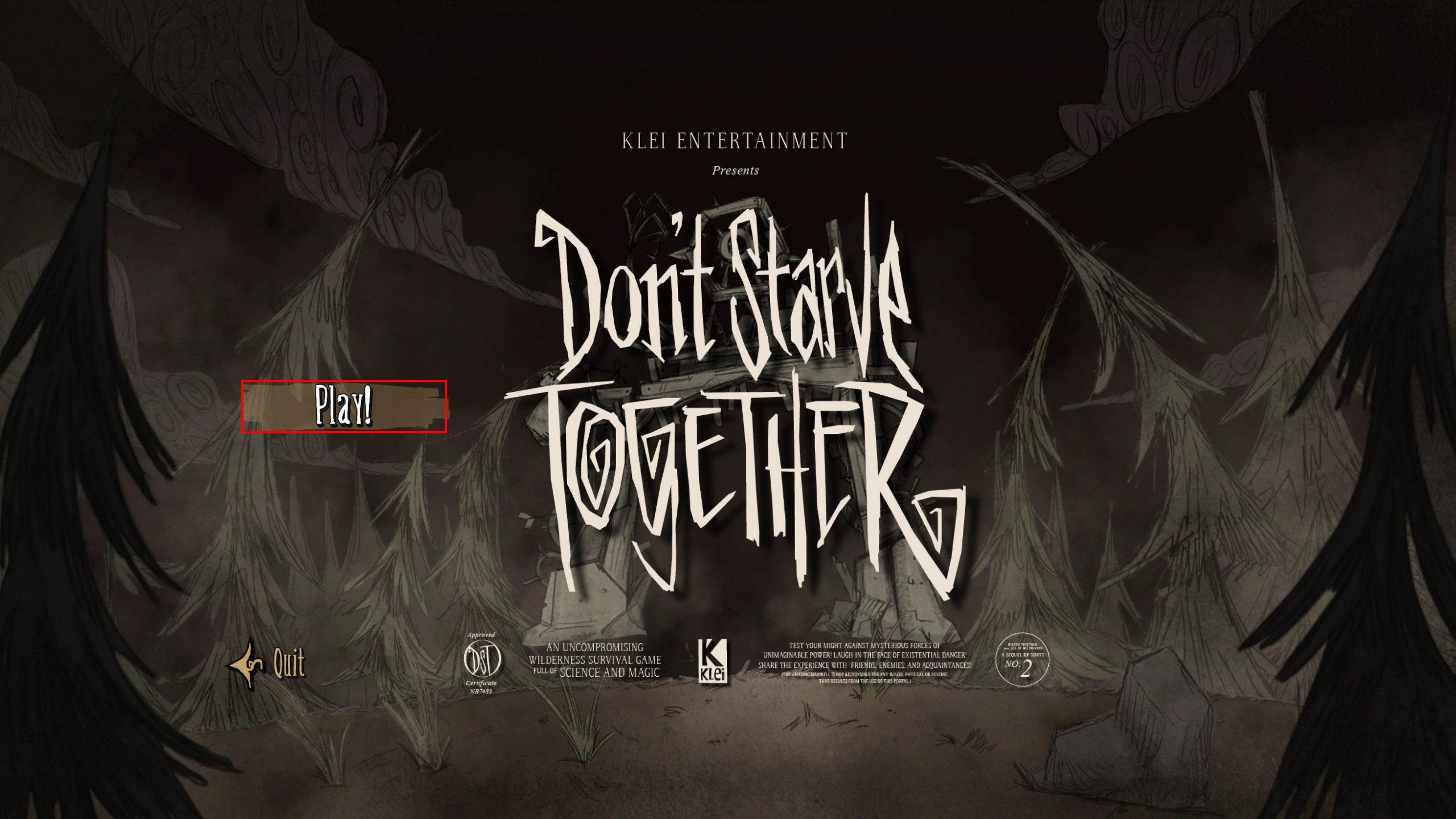 Don't starve together dedicated server linux a