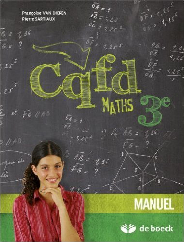 CQFD Maths 3e ? Manuel