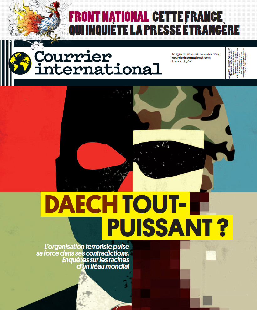 COURRIER INTERNATIONAL N°1310 - du 10 au 16 décembre 2015