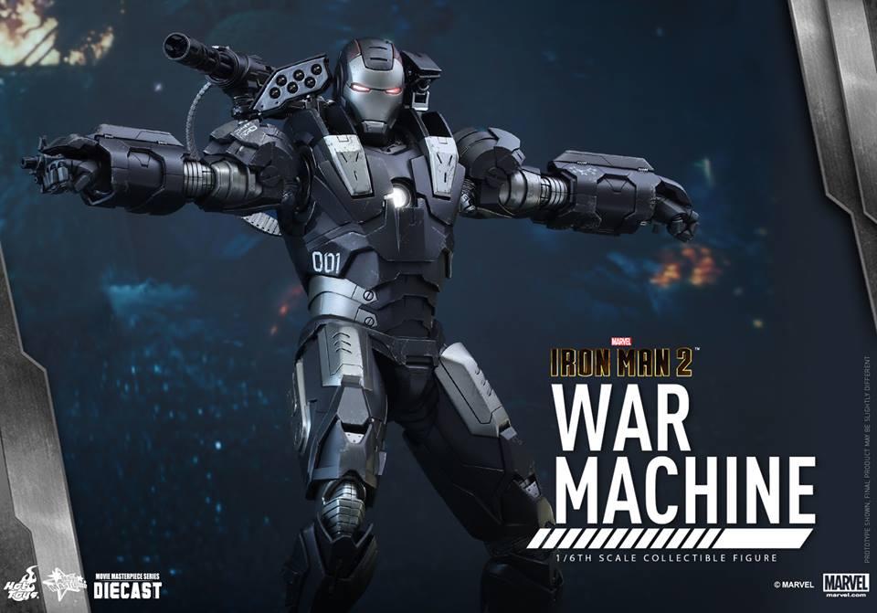 IRON MAN 2 - WAR MACHINE 2.0 (MMS331DC13) 151209093933472974