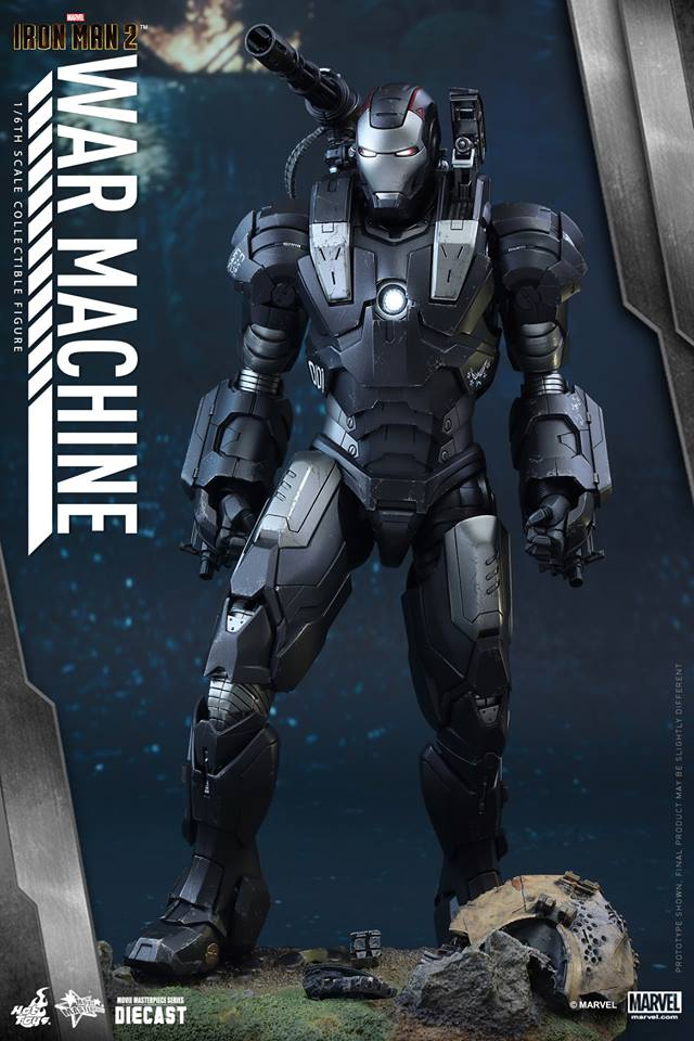 IRON MAN 2 - WAR MACHINE 2.0 (MMS331DC13) 15120909393433061