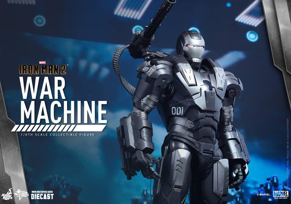 IRON MAN 2 - WAR MACHINE 2.0 (MMS331DC13) 151209093934557482