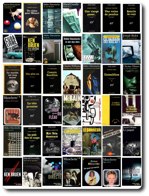Serie Noire Gallimard Pack No 08 - 30 livres