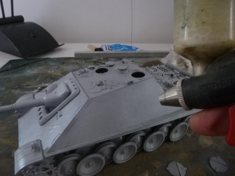 Jagdpanther fin de guerre 1945 - Dragon 1/35  151216031459349008
