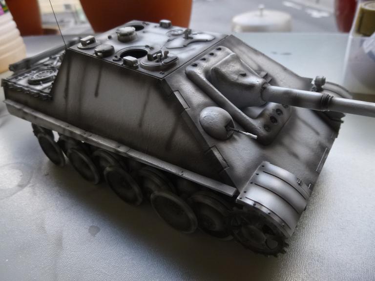 Jagdpanther fin de guerre 1945 - Dragon 1/35  151216031641747907