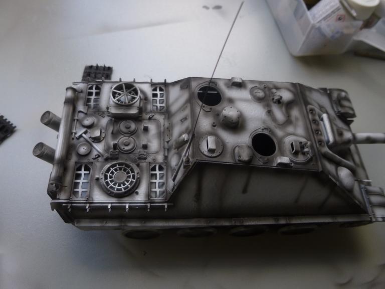 Jagdpanther fin de guerre 1945 - Dragon 1/35  151216031652370292