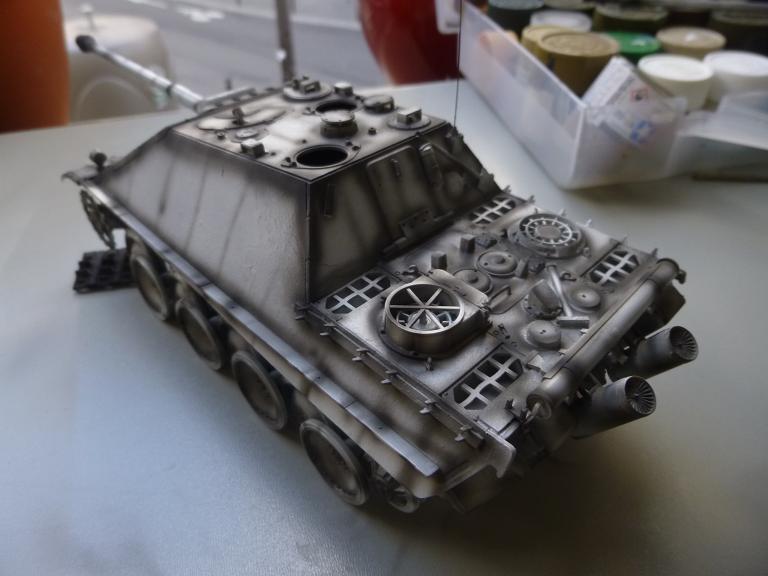Jagdpanther fin de guerre 1945 - Dragon 1/35  151216031714668658