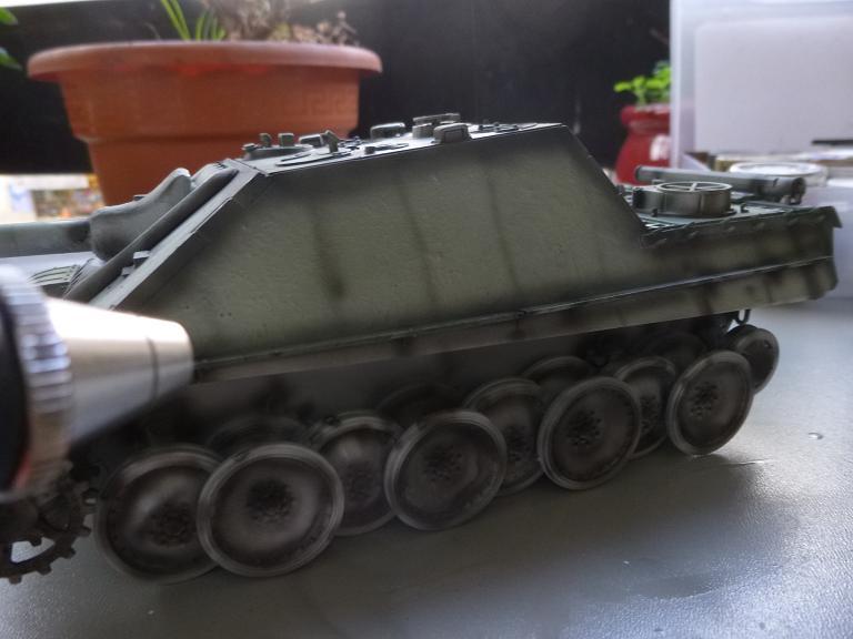 Jagdpanther fin de guerre 1945 - Dragon 1/35  151216031741919142