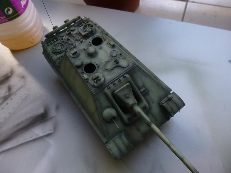 Jagdpanther fin de guerre 1945 - Dragon 1/35  15121603195415156