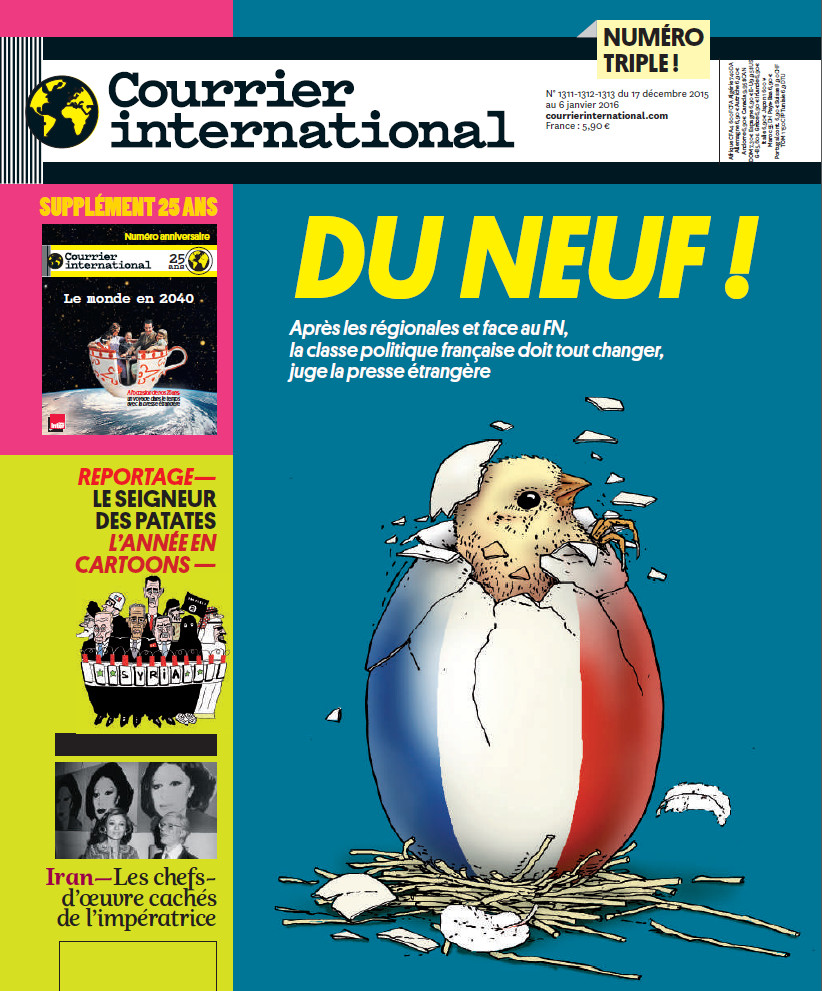 COURRIER INTERNATIONAL N°1311-1312-1313 du 17 décembre 2015 au 6 janvier 2016