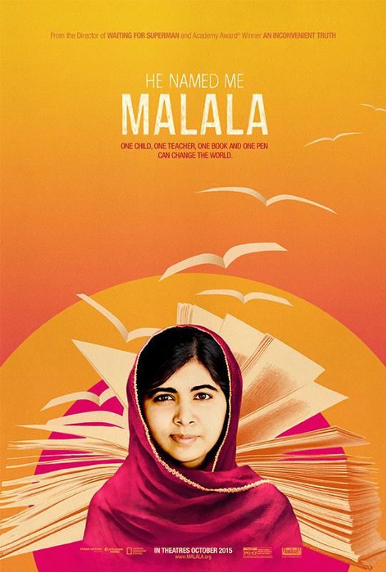 He Named Me Malala poster image
