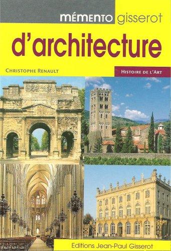 Mémento d'architecture