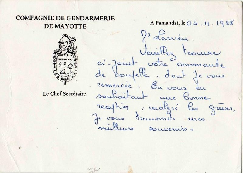 coupelle et insignes  (Mayotte) 151227031217635682