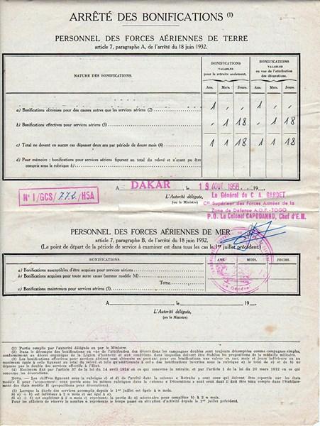 Petit aperçu d'un gendarme en A.O.F en 1957/58 151227070925944592
