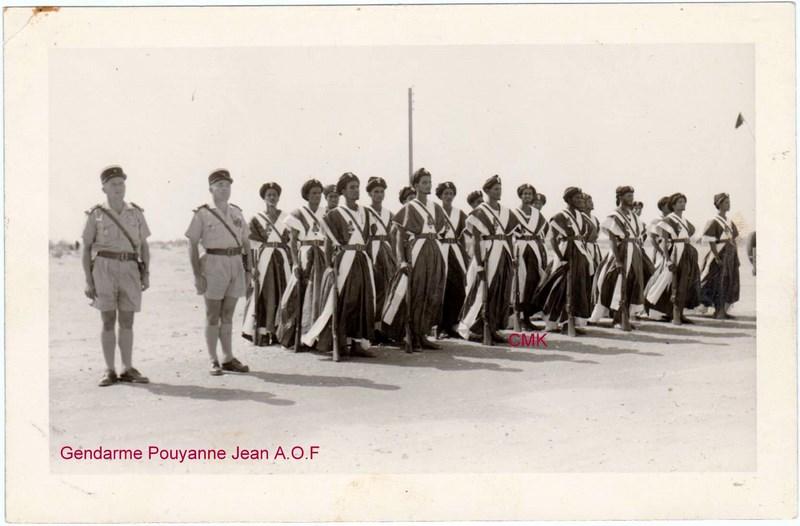 Petit aperçu d'un gendarme en A.O.F en 1957/58 151227070935158877