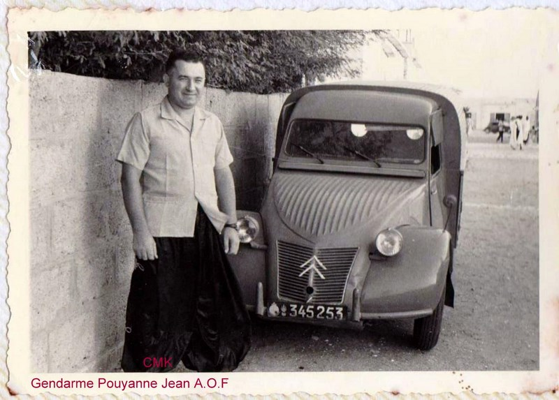 Petit aperçu d'un gendarme en A.O.F en 1957/58 151227070945738650