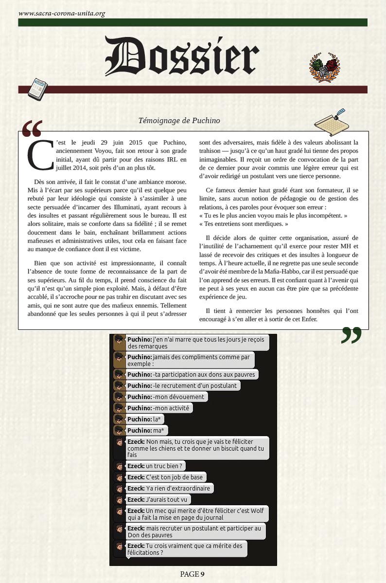 Il Corriere N°6 du 27 décembre 2015 151227101441197264