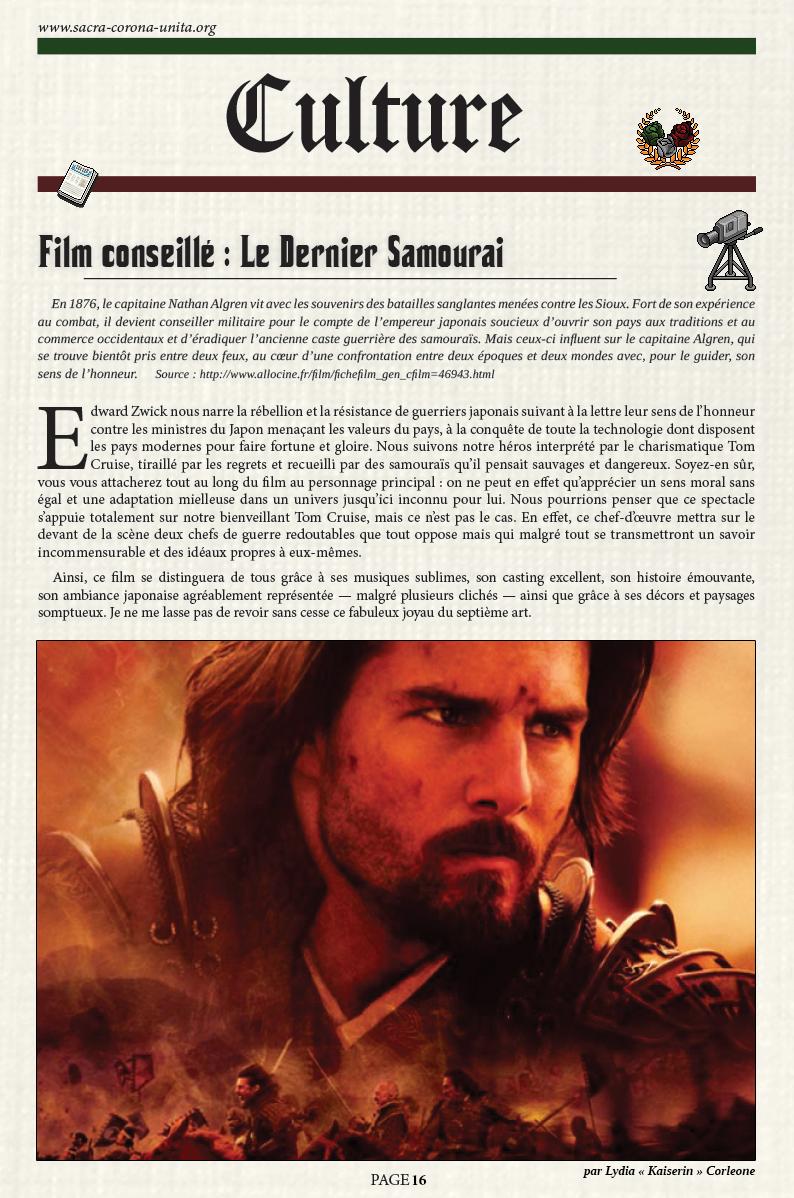 Il Corriere N°6 du 27 décembre 2015 151227105426669307