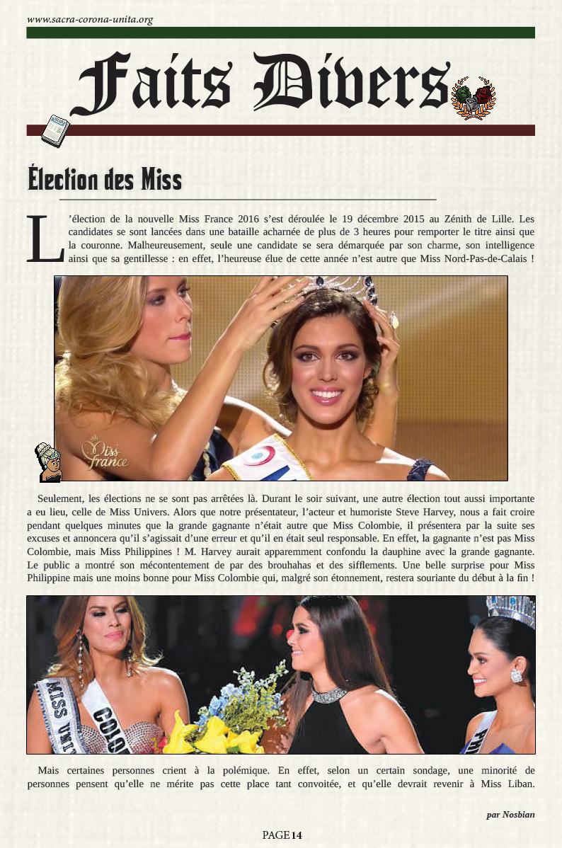 Il Corriere N°6 du 27 décembre 2015 151227105856549620