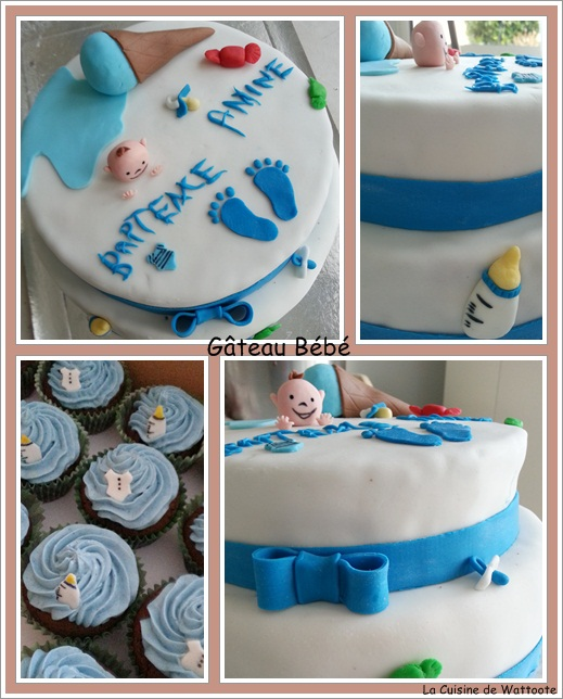 gâteau bébé